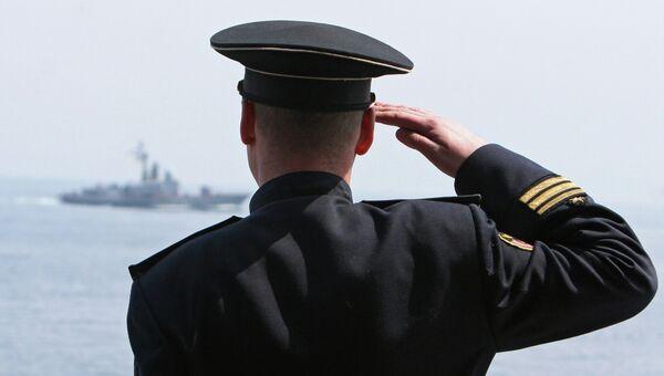 Вахтенный офицер . Архивное фото