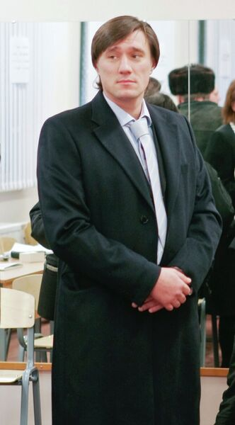 Сын губернатора Санкт-Петербурга Валентины Матвиенко Сергей