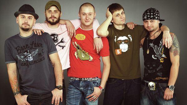 Участники группы Бумбокс