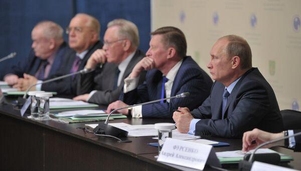 В. Путин провел заседание совета по науке и образованию