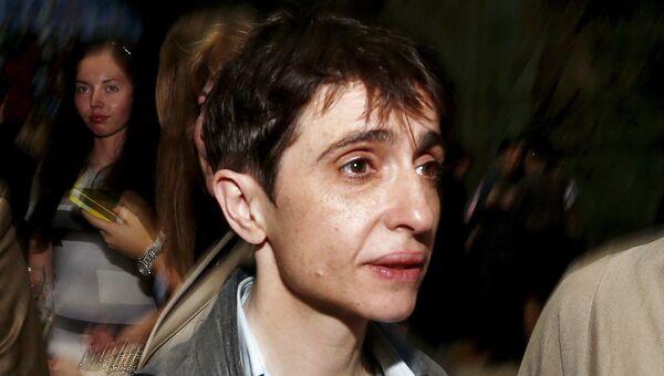 Директор русской службы Радио Свобода Маша Гессен