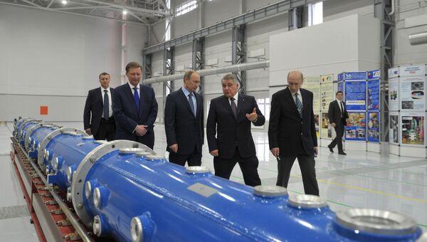 Рабочая поездка Владимира Путина в Северо-Западный федеральный округ