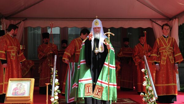 Патриарх Московский и всея Руси Кирилл в Китае