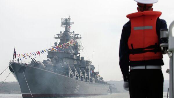 Празднование 230-летия Черноморского Флота России. Архивное фото