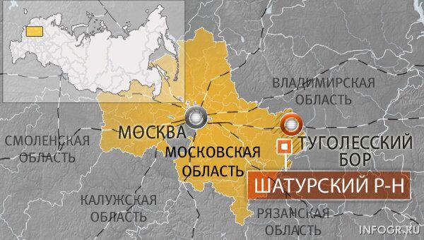 Поселок Туголесский Бор, Московская область