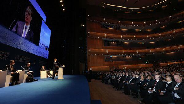 Д.Медведев на Петербургском международном юридическом форуме