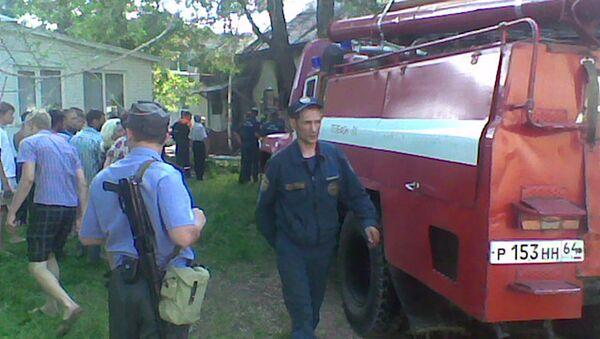 Четыре человека погибли при пожаре в поликлинике в Энгельсе
