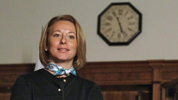 Пресс-секретарь премьера РФ Наталья Тимакова, архивное фото