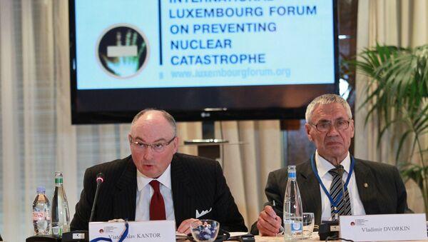 Президент Международного люксембургского форума по предотвращению ядерной катастрофы Вячеслав Кантор