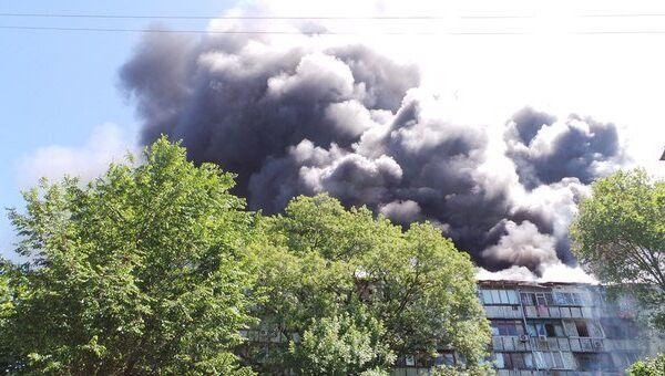 Пожар в Сочи