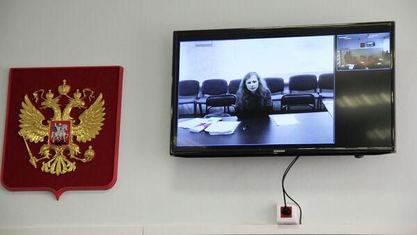 Заседание Березниковского городского суда по делу об УДО Марии Алехиной. Архив