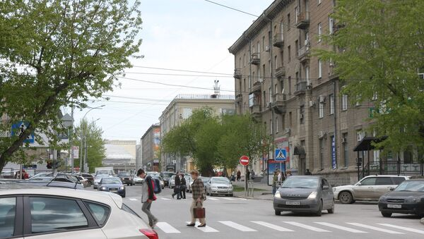 Улица Ленина в Новосибирске