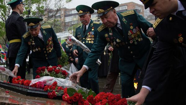 Возложение цветов к мемориалу пограничникам прошло во Владивостоке
