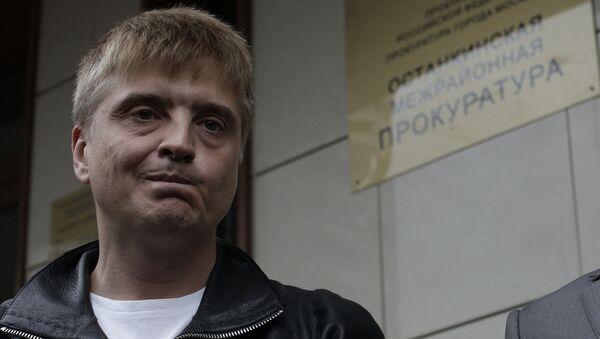 Продюсер певца Витаса Сергей Пудовкин