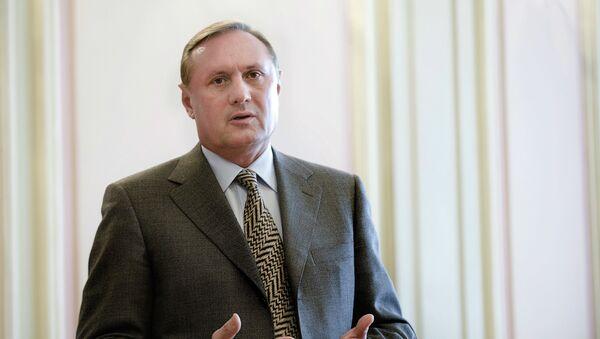 Экс-лидер фракции Партии регионов Александр Ефремов. Архивное фото