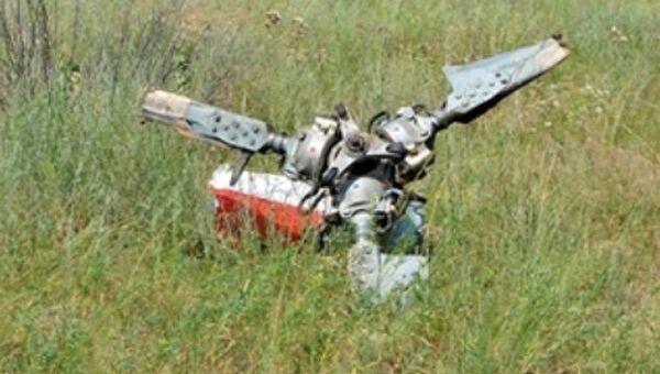 Крушение военного вертолета под Саратовом