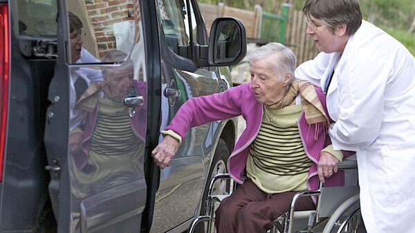 Перевозка инвалида