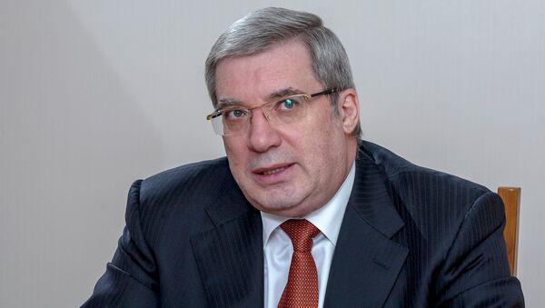 Виктор Толоконский в должности полпреда в Сибирском федеральном округе. Архивное фото
