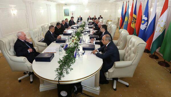 Заседание Совета глав правительств СНГ в Минске