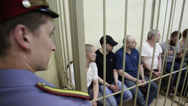 Оглашение приговора по делу о похищении сына Е.Касперского