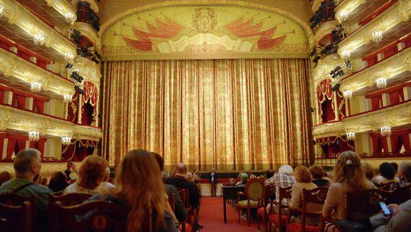 Государственный академический Большой театр России. Архивное фото