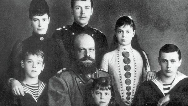 Семья императора Александра III. Архивное фото