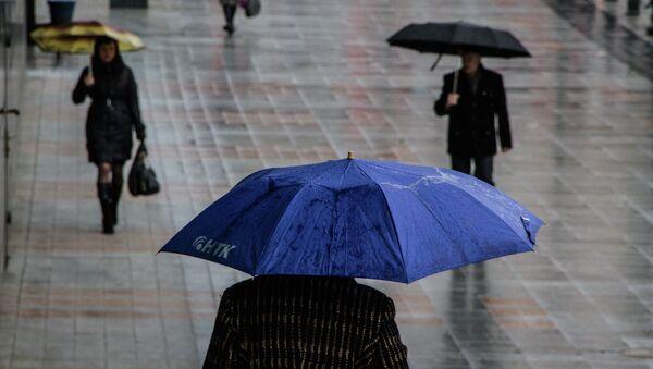 Дождь во Владивостоке. Архивное фото.
