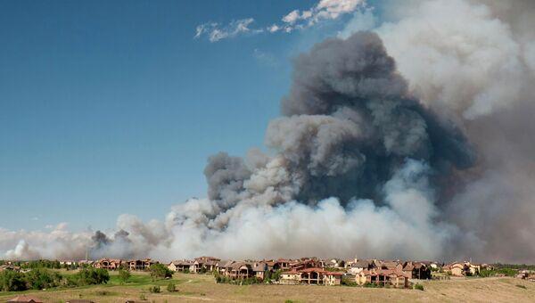 Лесные пожары в штате Колорадо