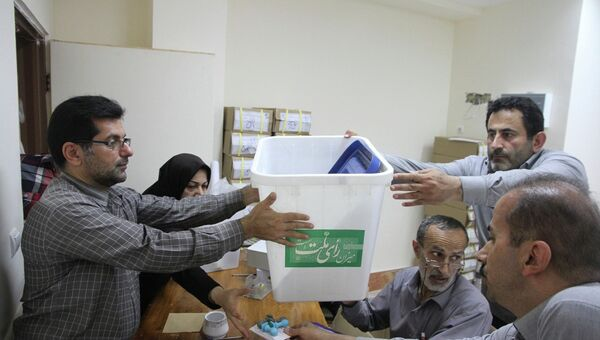 Подготовка к выборам в Иране