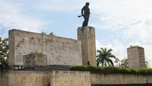 Мемориал Че Гевары в Санта-Кларе - место паломничества сторонников левых идей со всего мира