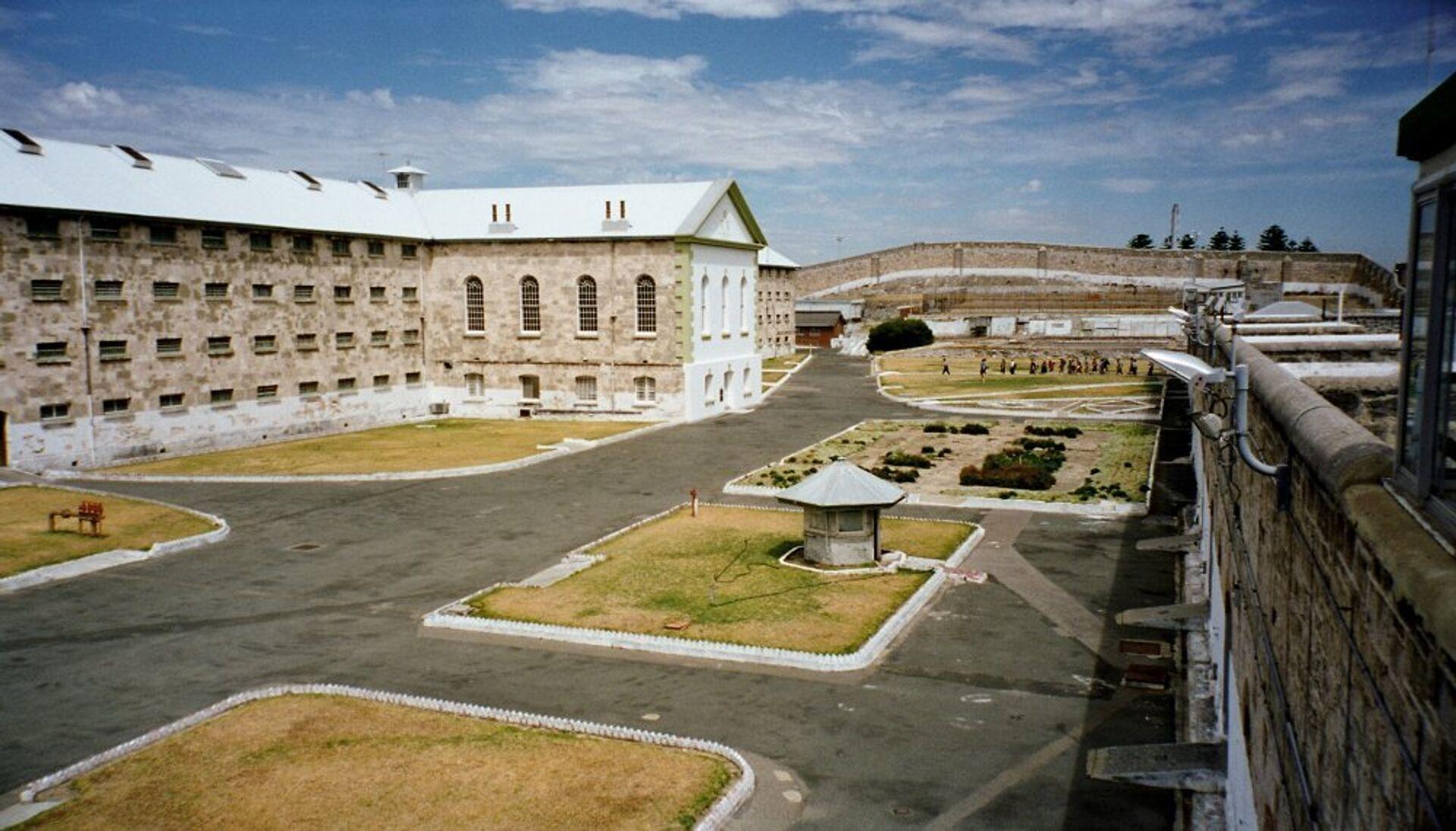 Двор австралийской тюрьмы Фримантл  - РИА Новости, 1920, 25.01.2021