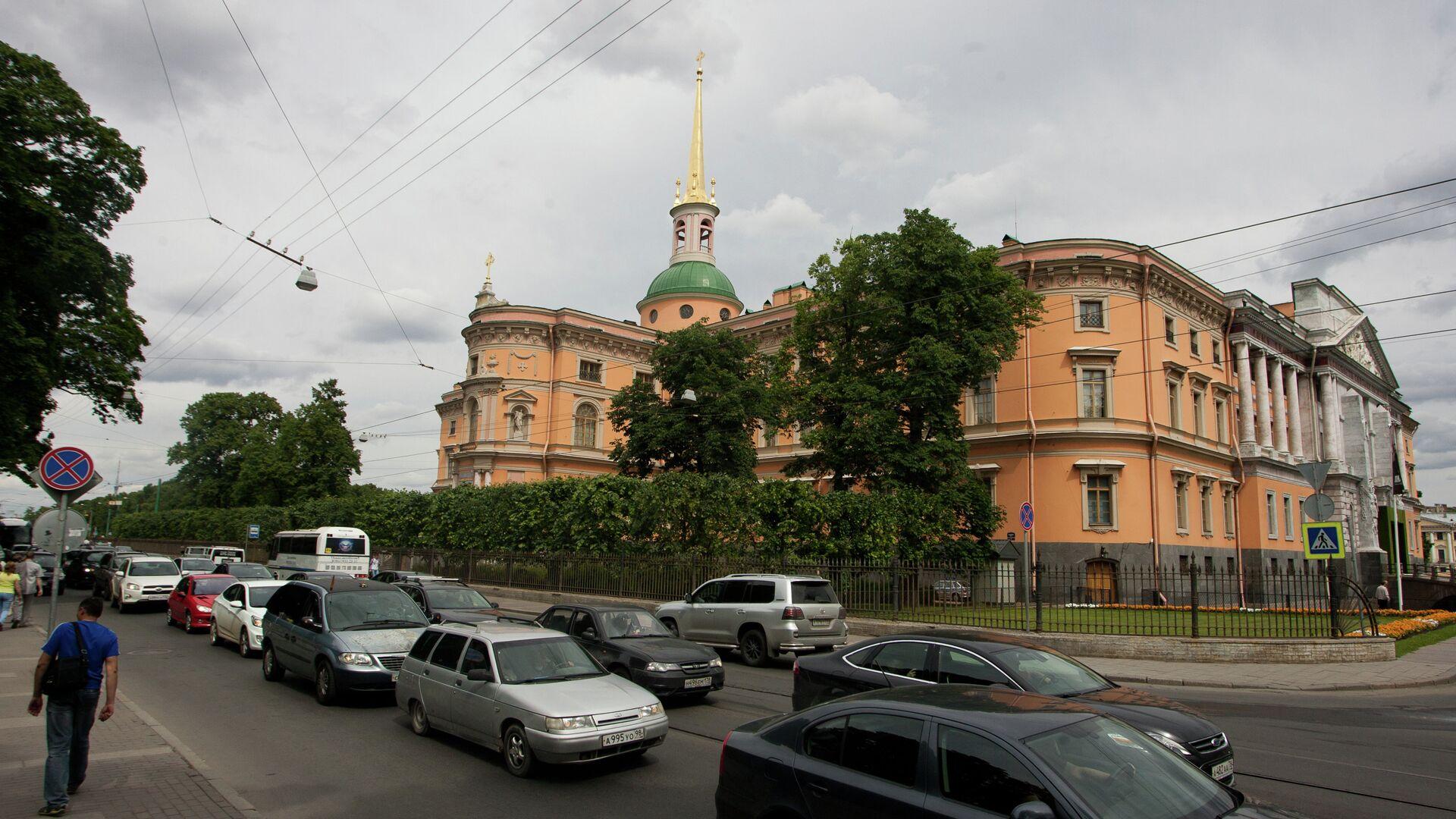 Михайловский замок в Петербурге - РИА Новости, 1920, 23.04.2021