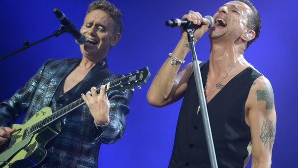 Концерт Depeche Mode в Москве. Архивное фото