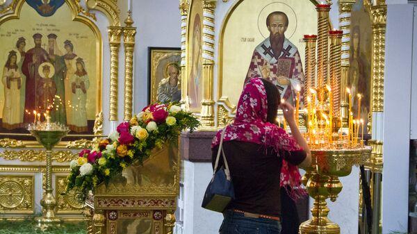 Святая Троица в Приморье - в живом наряде берез и цветов