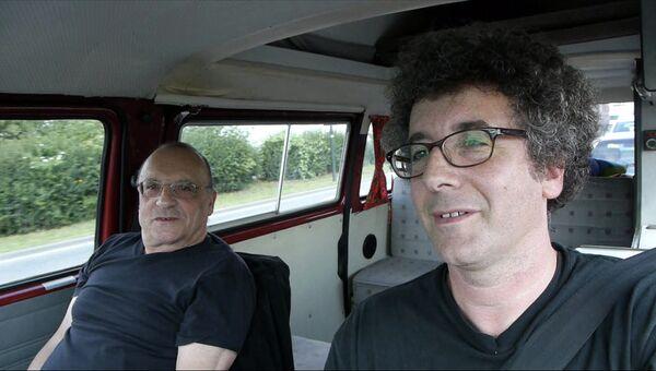 Кадр из фильма Павла Лозиньского Отец и сын