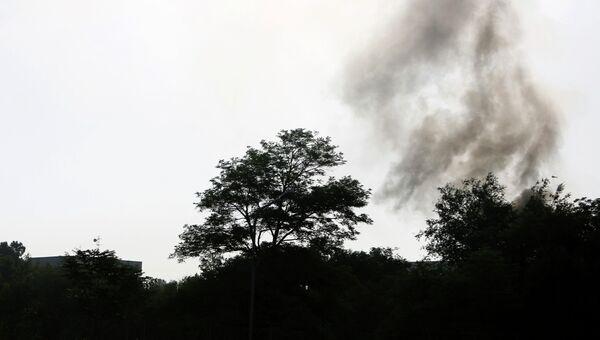 Боевики атаковали дворец президента Афганистана Хамида Карзая и здание министерства обороны страны