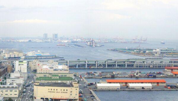Портовая зона Кобе