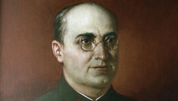 Репродукция картины Л. П. Берия