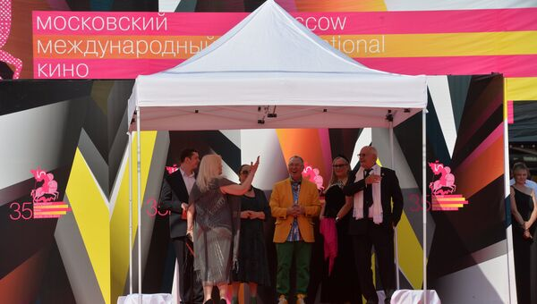 Московский Международный Кинофестиваль. Архивное фото
