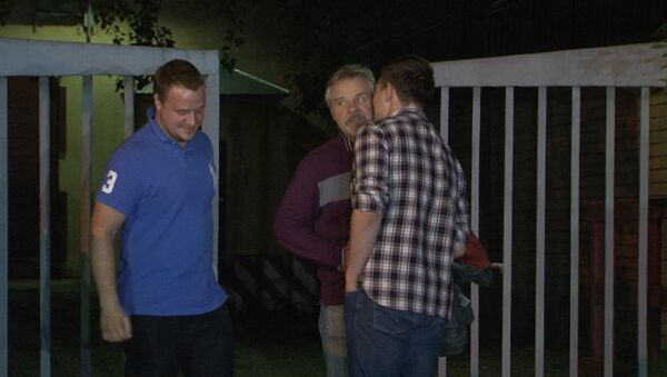 Экс-зампрокурора Игнатенко вышел из СИЗО Лефортово и обнял сыновей