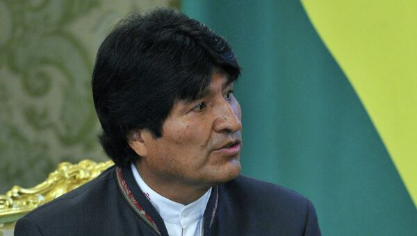 Президент Боливии Эво Моралес Айма. Архивное фото