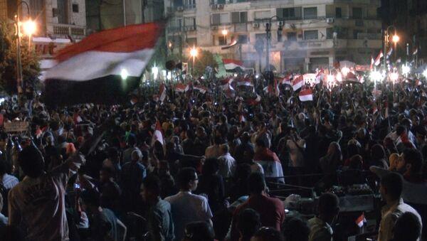 Мурси отказался покидать свой пост. Кадры телеобращения президента Египта