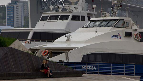 Катамараны, построенные к саммиту АТЭС-2012 во Владивостоке