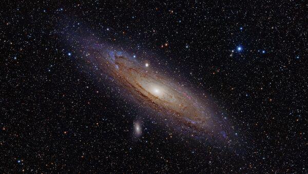 Туманность Андромеды, архивное фото