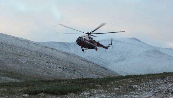 Поиски вертолёта Ми-8 в Якутии