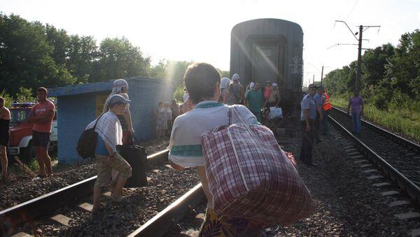 Крушение пассажирского поезда Новосибирск - Адлер. Архив