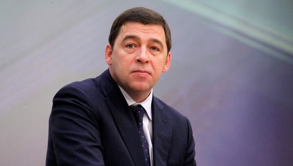 Губернатор Свердловской области Евгений Куйвашев, архивное фото