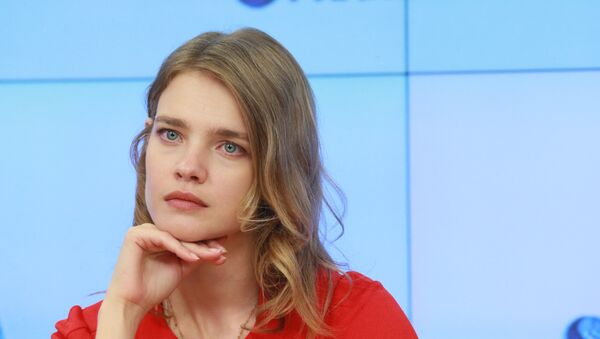 Наталья Водянова, архивное фото