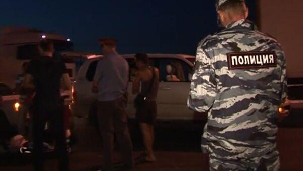 Задержание подозреваемых в нападении на депутата Р.Худякова