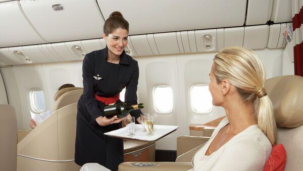 Бортпроводницы Air France. Архивное фото